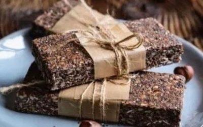 Super Protein Bars σοκολάτας με βρώμη